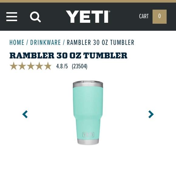 Yeti Rambler Sale >> Yeti Accessories Fall Sale Rambler Tumbler Poshmark